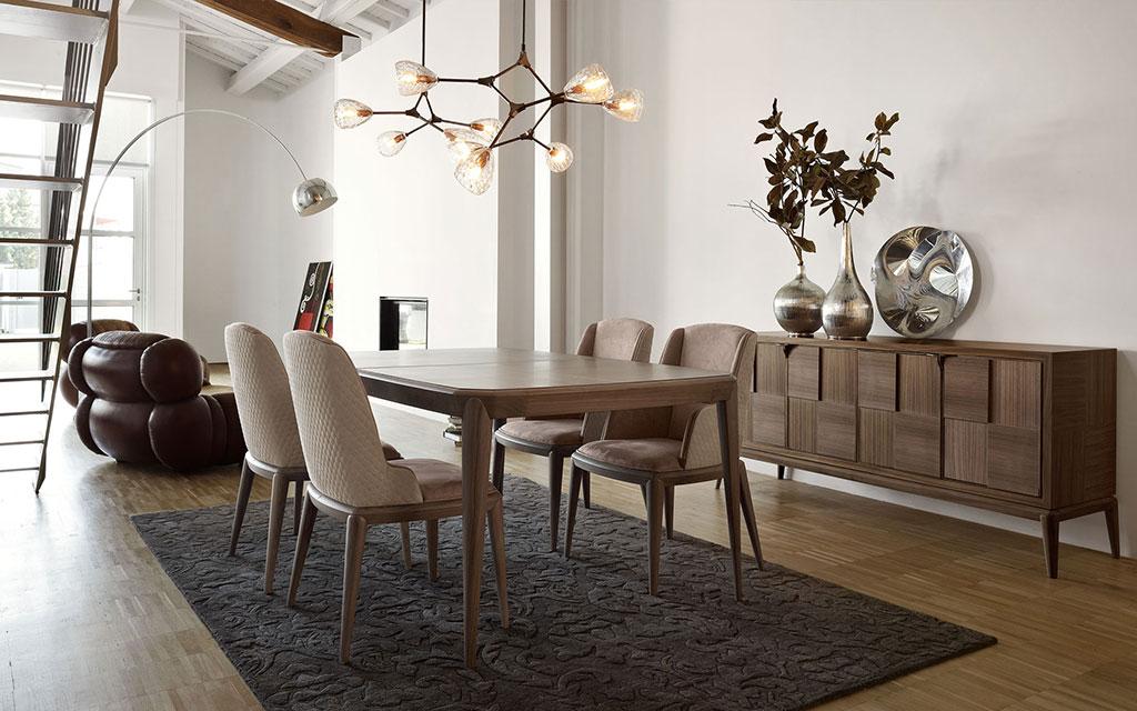 Sala Da Pranzo Moderna Contemporanea.Arredamento In Stile Contemporaneo Volpi Lo Stile In Casa
