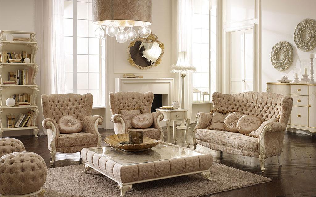 Arredamento romantico volpi lo stile in casa for Arredamento volpi