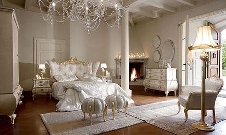 Camere classiche volpi design senza tempo - Camere da letto classiche eleganti ...