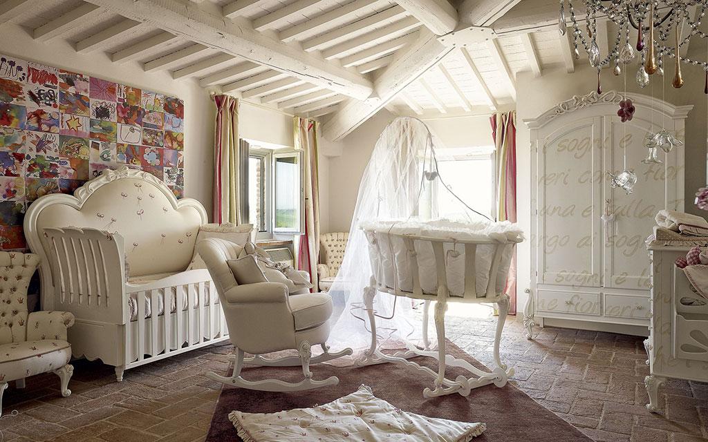 Camerette in legno massello per bambini volpi camerette classiche - Camerette classiche per bambini ...