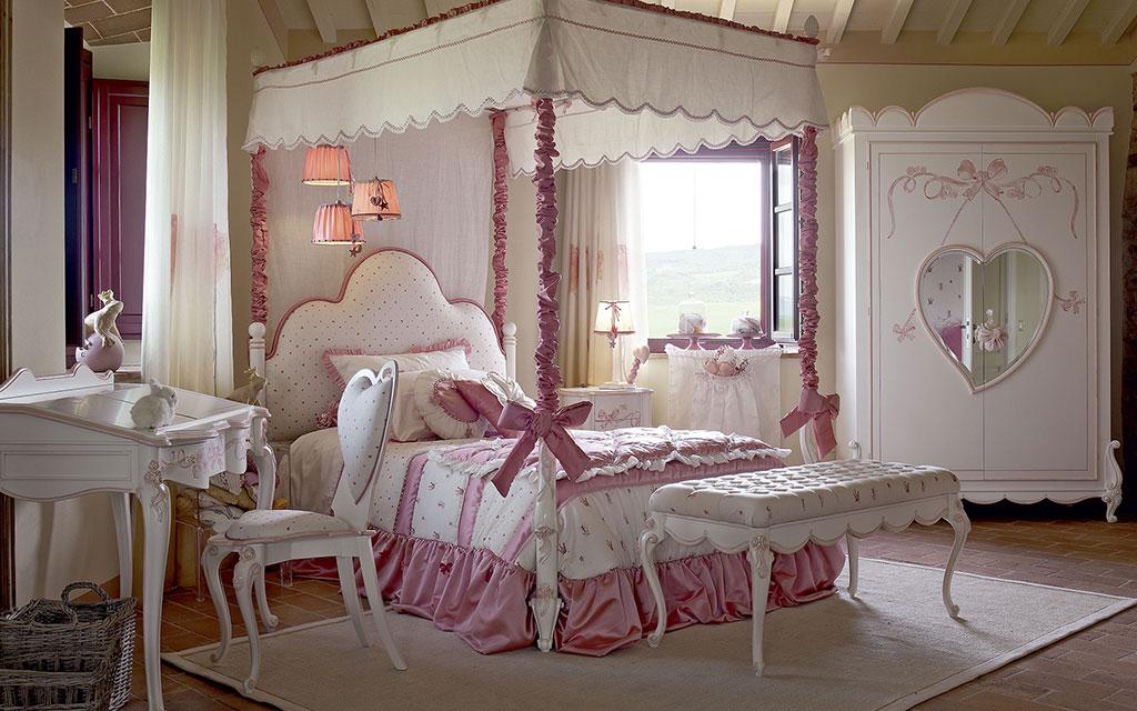 Camerette romantiche per bambini | Volpi camerette sogni e amore