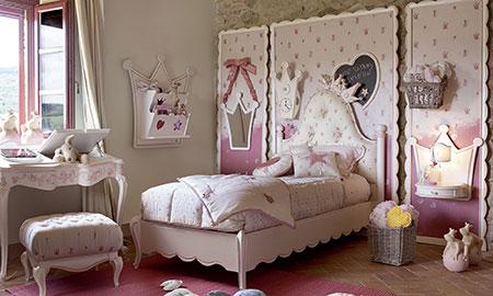 Camerette romantiche per bambini volpi camerette sogni e for Camerette romantiche
