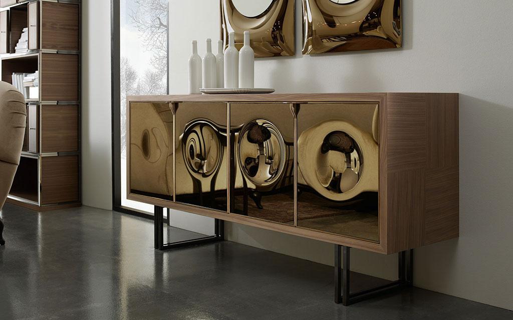 Foto Credenze Moderne.Credenze Moderne Volpi Arreda Lo Stile In Casa