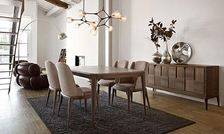 Sala da pranzo moderna volpi lo stile in casa - Stanza da pranzo moderna ...