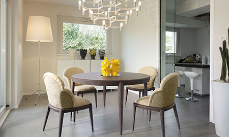 Sala da pranzo moderna - Volpi, lo stile in casa.