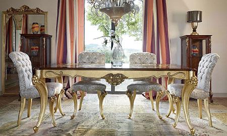 Sedie in legno volpi lo stile in casa for Arredamento case di lusso