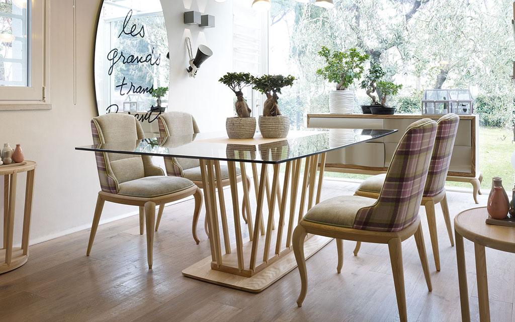 tavoli in legno volpi lo stile in casa