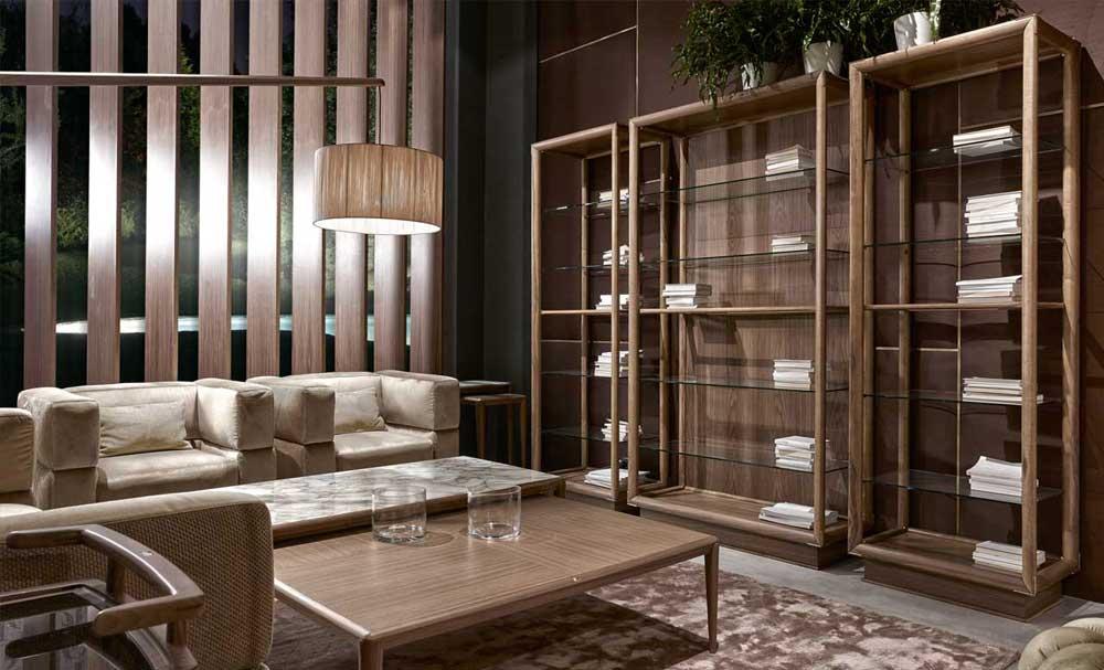 Volpi ambienti stile contemporaneo zona giorno for Arredamento lussuoso